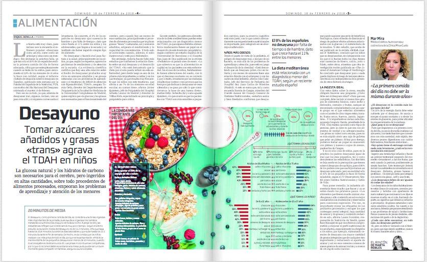 El Dr. Javier Quintero habla de la relación entre azúcares añadidos y TDAH en La Razón