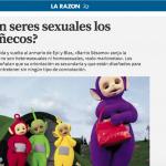 ¿Son seres sexuales los muñecos?