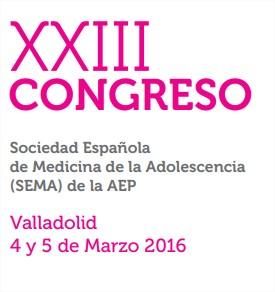 XXIII Congreso Sociedad Española de Medicina de la Adolescencia