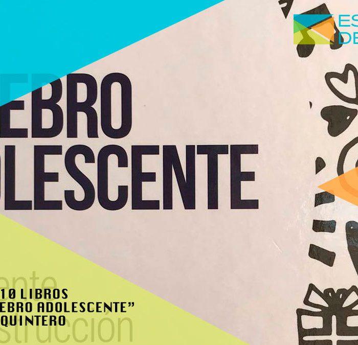 """SORTEO DE 10 LIBROS DEL DR. QUINTERO """"EL CEREBRO ADOLESCENTE"""""""