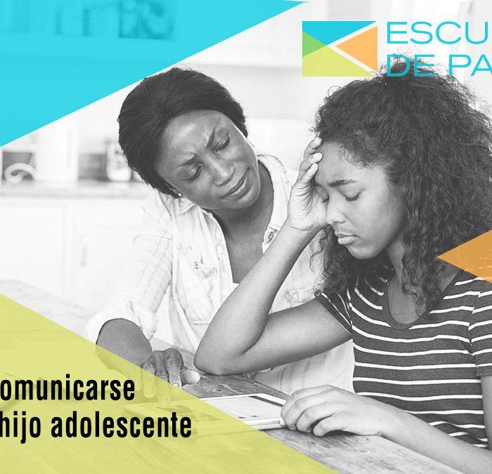CONSEJOS PARA MEJORAR LA COMUNICACIÓN CON NUESTRO HIJO ADOLESCENTE